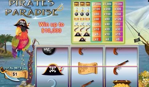 Pirates Paradise Slot in Detail Online