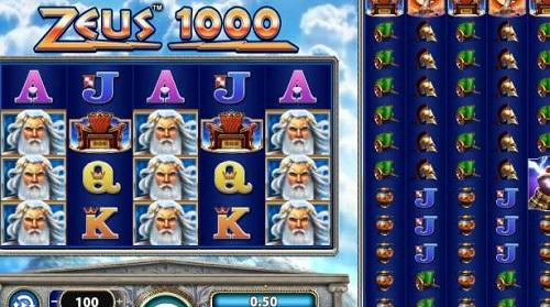 Zeus 1000 Online Casino Slot Described